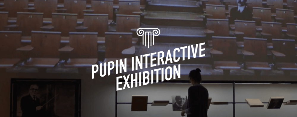 Pupin Interactive Exhibition