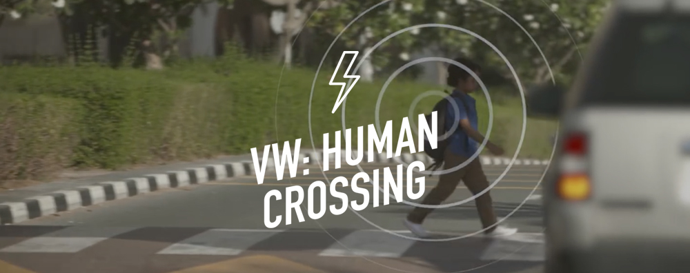 Volkswagen Human Crossing