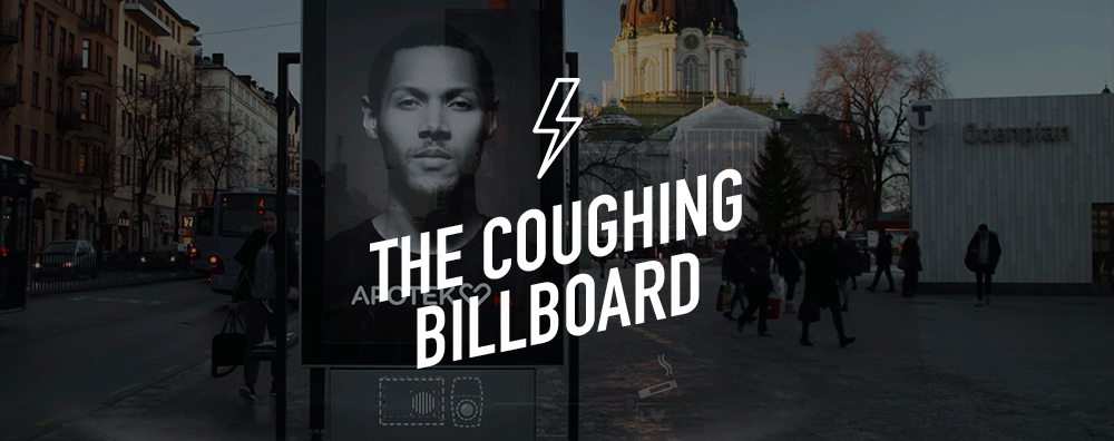 Coughing Billboard