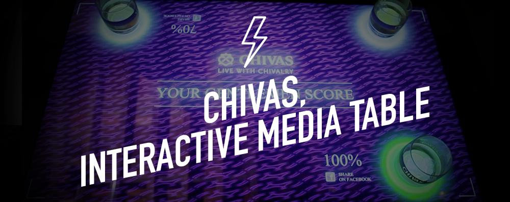 Chivas, Interactive Media Table