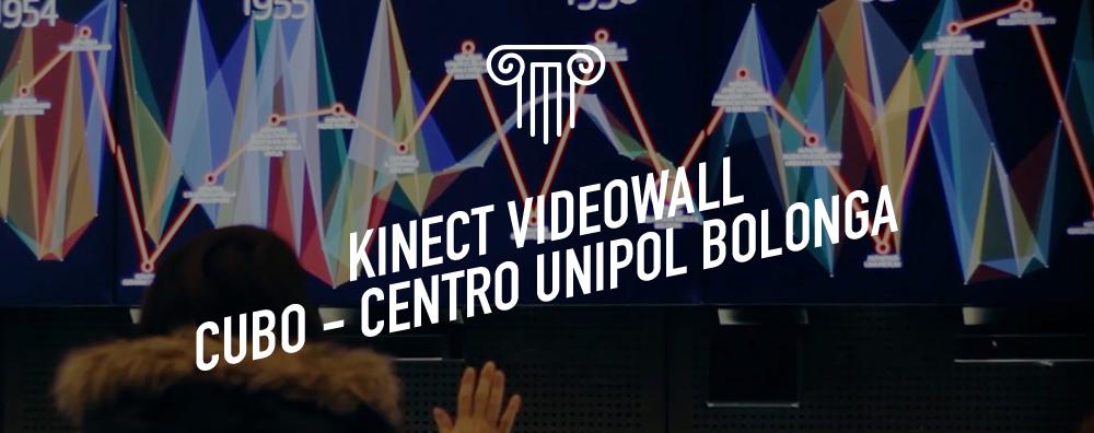 Kinect Videowall - CUBO, Centro Unipol Bologna