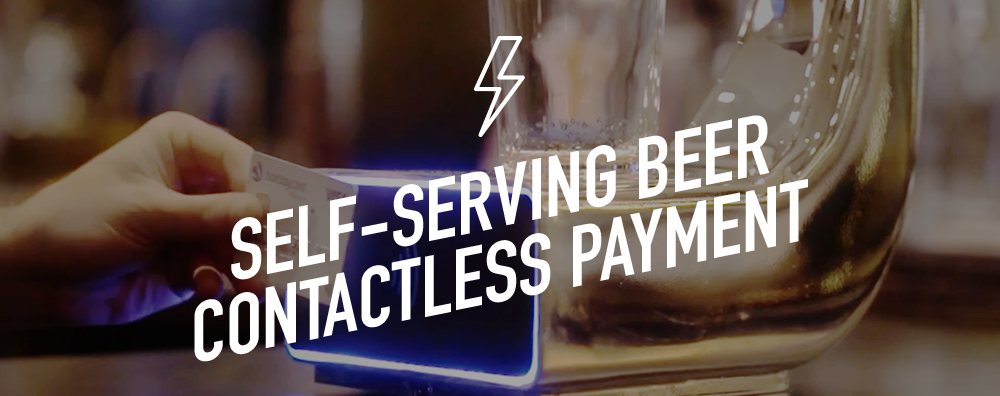 Self-serving beer | Contactless payment