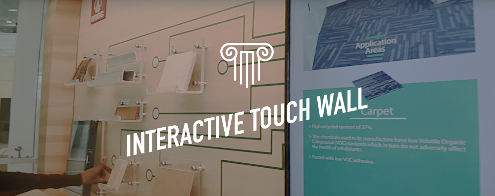 Interactive Touch Wall