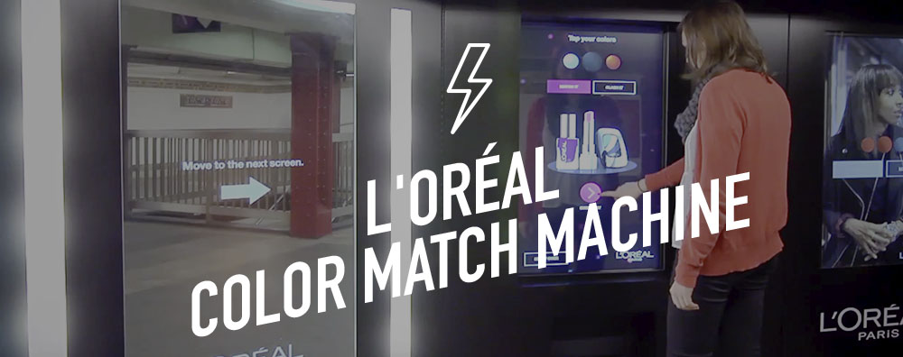 L'Oréal Color Match Machine