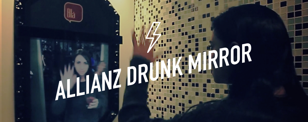 Allianz Drunk Mirror