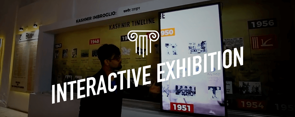 Interactive Digital Exhibition