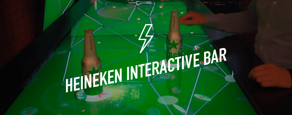 Heineken Interactive Bar
