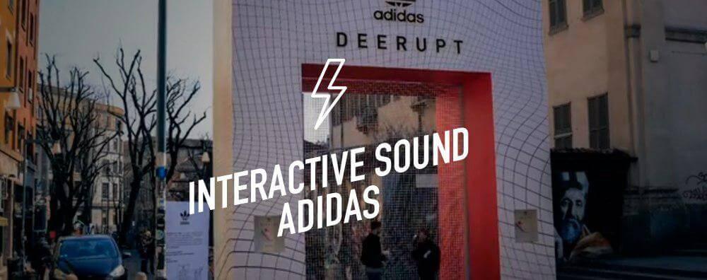Interactive Sound Adidas